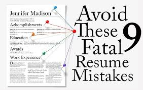 9 Resume Mistakes that are Costing You Interviews