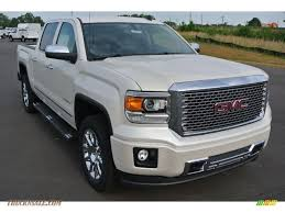 gmc 2015 truck white.  Gmc 2014 Sierra 1500 Denali Crew Cab 4x4  White Diamond Tricoat  CocoaDune  Photo Throughout Gmc 2015 Truck