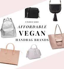 affordable vegan handbag brands under 100