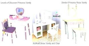 childrens wooden dressing table and chair childs kids vanity girls stool best of kid with furniture