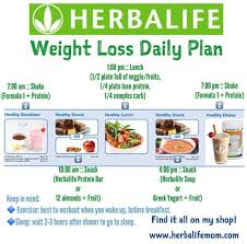 Herbalife Meal Plan Herbalife Weight Loss Results Positive Weight Loss Results Eat
