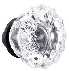 glass crystal replacement door knobs in