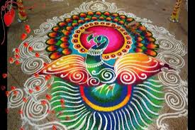 Easy Diya Rangoli Designs For Diwali Beautiful Easy Rangoli Designs For Diwali Diwali Rangoli