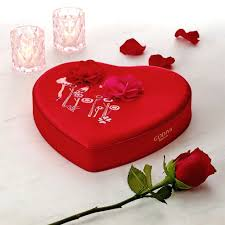 Gift Box Decoration Ideas Heart Shaped Gift Box Decorations Red Chocolate Idea For 91