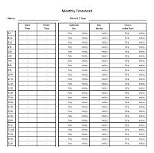 Free Printable Bi Weekly Timesheet Template Stingerworld Co