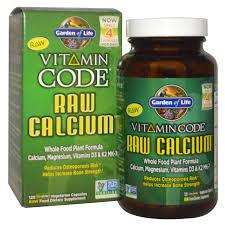 garden of life vitamin code raw calcium 120 ultrazorbe vegetarian capsules