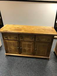Tall Sideboard oak furniture with marquetry inlay design sideboard cabinet and 1074 by xevi.us