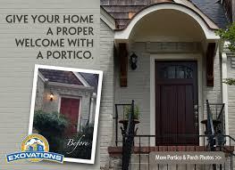 front door portico kitsPorch Additions Porticos Screen Porch Front Porch  Atlanta