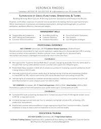 Supervisor Resume Templates Cool Food Production Supervisor Resume Sample Cleaning Supervisor Cv