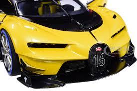 Scegli la consegna gratis per riparmiare di più. Bugatti Vision Gran Turismo 16 Giallo Midas Metallic Yellow Carbon Fiber 1 18 Model Car Autoart 70989