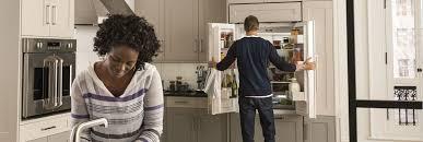 french door refrigerator in kitchen. French Door Refrigerator In Kitchen R