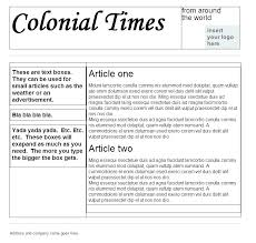 Newspaper Template For Google Docs Free Newspaper Template Google Docs Fresh Newsletter Editable D