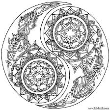 Yin Yang Coloring Page By Welshpixie On Deviantart Some Dayrandom