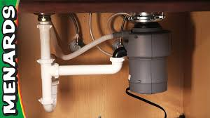 Garbage Disposer How To Install Menards Youtube