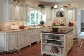 White Distressed Kitchen Cabinets Kitchen Style Off White Distressed Victorian Kitchen Cabinets