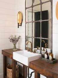 Powder Room Design Ideas Mid Sized Farmhouse Powder Room Idea In Charleston With Furniture Like Cabinets White