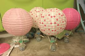 remarkable design hot air balloon centerpiece for baby shower rh ngretailsummitla com diy hot air balloon centerpieces diy balloon centerpieces