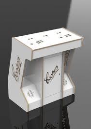 pedestal white