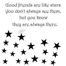 Good Picture Quotes Simple Friends Are Like Stars Quote Stirring Good Friends Are Like Stars