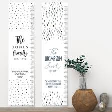 Personalised Family Height Charts Growth Charts Stuff For Mums Dads Stuff For The Home And Mums Dads