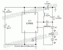 handy bright light circuit handy bright led light circuit schematic