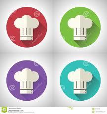 Ic Ne En Chef De Nourriture De Symbol Toque Cuisine De Cuisinier