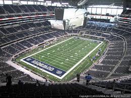 At T Stadium Arlington Tx Section 422 Dallas Cowboys At