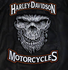 harley davidson rocker patch ebay