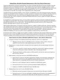 Fact Sheet On Hamp Improvements Short Sale Real Estate Loan