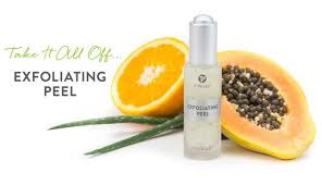 it works exfoliating peel before and after it works exfoliating peel it works body wraps be skinny by