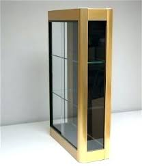 wall display case with glass doors wall display cabinet gold wall display cabinet with sliding glass doors 5 wall mounted display cabinets glass wall