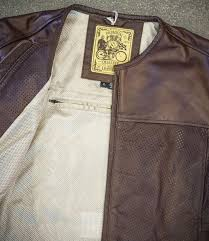 rsd roland sands design barfly perf leather jacket
