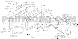 214j 010 radiator shroud inverter cooling ラジエーター フィッティング パーツ1
