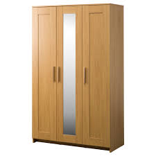 IKEA BRIMNES Wardrobe With 3 Doors Adjustable Hinges Ensure That The  Hang Straight Ikea