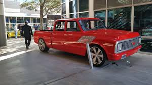 Sema: Chevy C10   Safety Stance