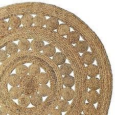 round jute rug pottery barn source runners bath runner
