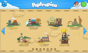 Image result for poptropica map