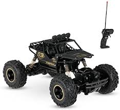 Buy Toyshine Plastic, Alloy <b>Rc</b> Monster Truck, Pack Of 1, Black ...