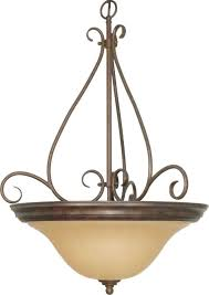castillo orb bronze champagne glass bowl pendant light 20 wx28 h