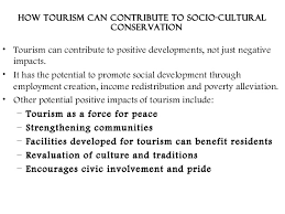 socio cultural impacts of tourism  socio cultural impacts of tourism 23