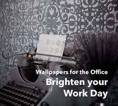 pictures for the office. This Is Why We Think That Office Wallpapers Are The Most Suitable Style Element To Prevent Monotony And Routine. Choose Fresh Flower Motifs, Pictures For