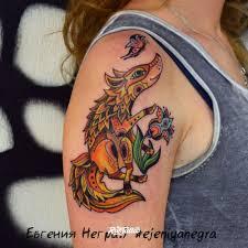 лиса значение татуировок в россии Rustattooru