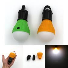 Light And Portable Night Lights Portable Outdoor Hanging Led Lantern Light Led Camp Lights Bulb Lamp For Camping Tent Powered By 3 Aaa Batteries