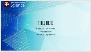College Ppt Templates Powerpoint Templates College Of Science