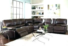macys furniture leather sectional recliner modern couch 4087 sofa with recliners reclining home improve