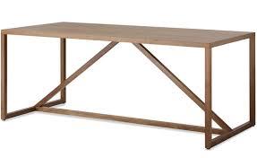strut large wood table