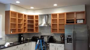 this is what cristina s kitchen looked like when she was doing this her pics already show the crown moulding and trim installed