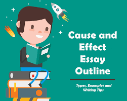 ideas for a cause and effect essay effect essay outline cause and effect essay outline types examples