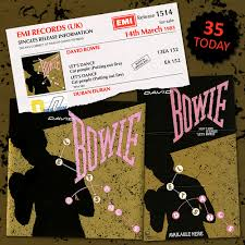 Bowie Said Lets Dance On This Day In 1983 David Bowie