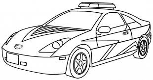 Car Coloring Mped 20 Free Printable Police Car Coloring Pages